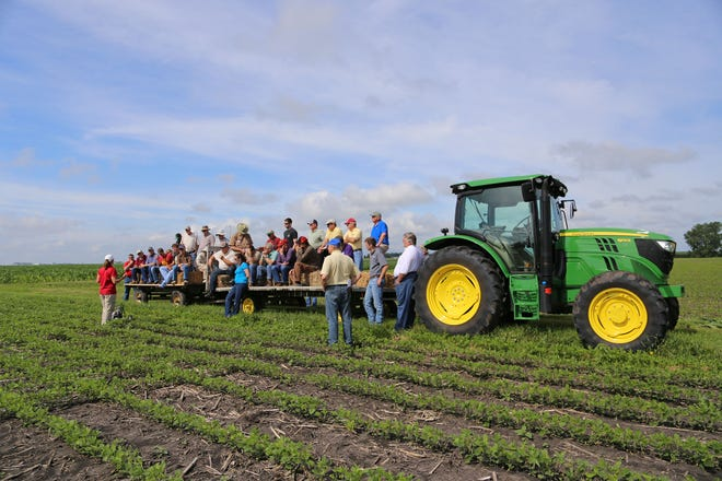Iowa State University's Northern Research and Demonstration Farm.