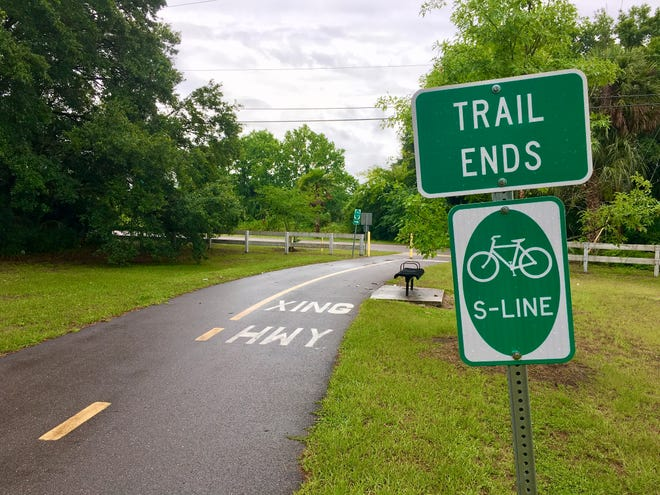 The proposed Emerald Trail would take the existing S-Line and add to it, creating about 30 miles of trails, greenways and parks that encircle the urban core and link 14 neighborhoods to downtown, Hogans Creek, McCoys Creek and the St. Johns River.