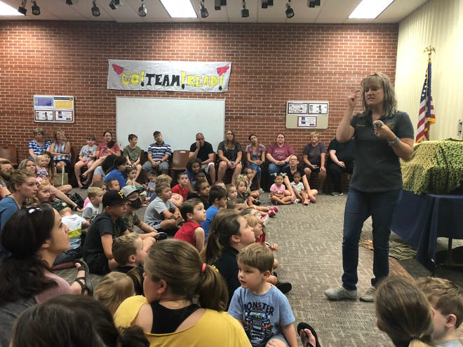 Zoofari was one of the events part of the Denison summer reading program in 2019.