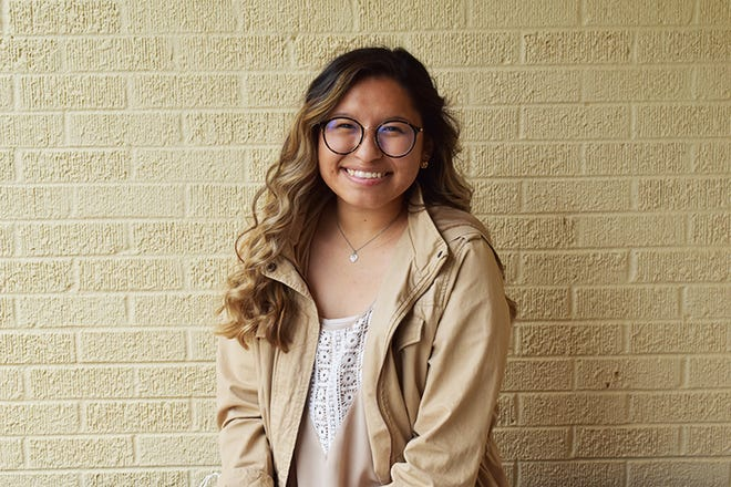 Kamryn Alvarez of Earth was presented the 2021 Vera Sue Spencer Award during South Plains College's 63rd Annual Commencement Ceremony held Friday (May 14) in the Texan Dome. The award honors the top academic female student at SPC.