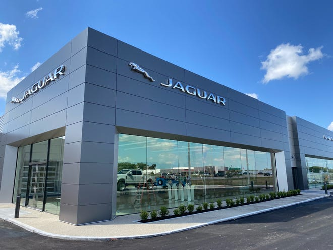 The exterior of the new Jaguar Land Rover set to open in Lakeland June 10.
