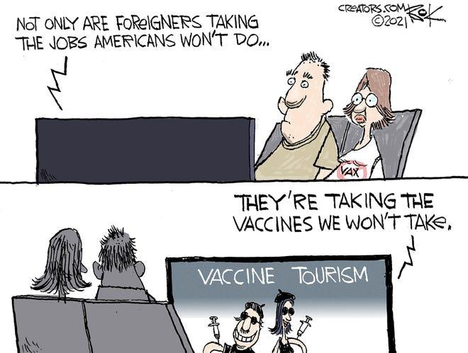 Today's editorial cartoon (May 22, 2021)