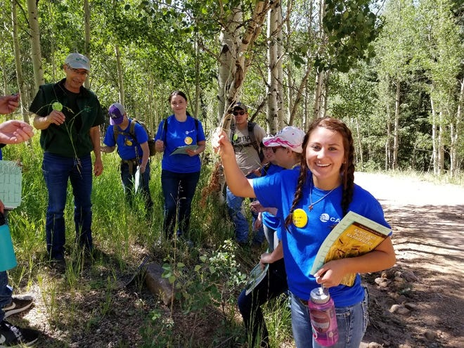 High school-aged students participating in Camp Rocky meet students from across Colorado and gain hands-on experience in Forest Management, Wildlife Management, Water Conservation, or Rangeland Science studies.