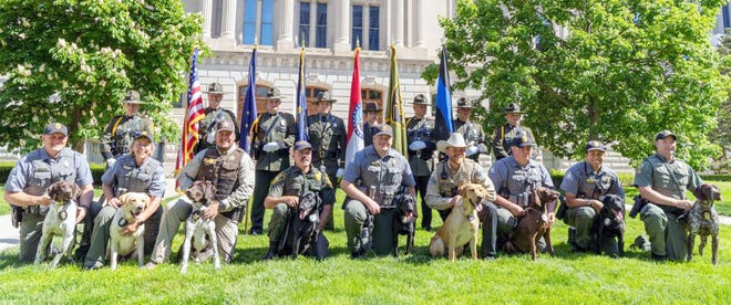 Five retriever-style dog breeds will be stationed throughout the state and assist their conservation agent-handlers in evidence recovery and wildlife trafficking cases.