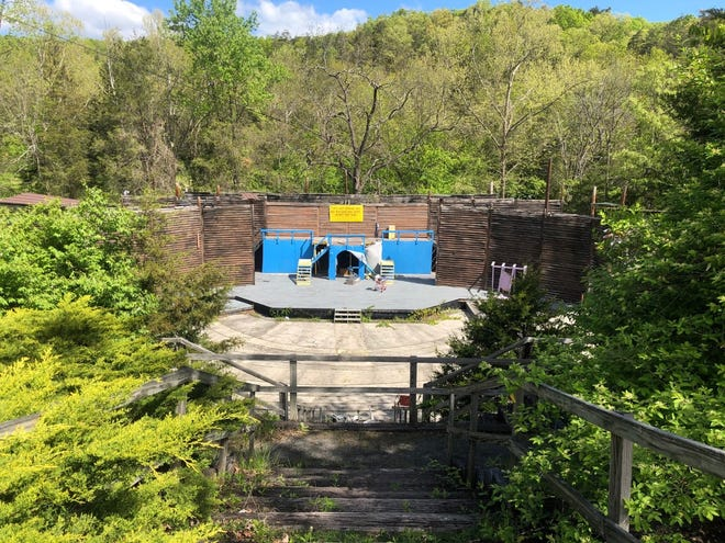 Over grown by trees and weeds and deteriorating in the weather, Mineral County's Larenim Park Amphitheater has sat unattended since 2017. Parks and Recreation director Kevin Simon said he has been mowing and trimming at the park, but has mostly left the amphitheater alone since it wasn't being used. He is now seeking estimates to have the structure torn down.