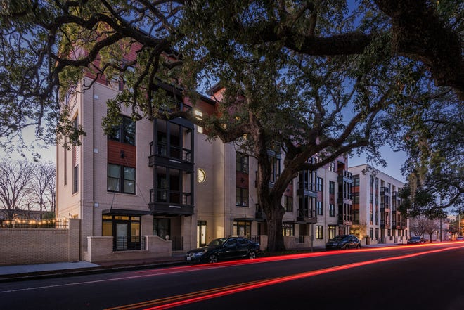 The Bowery, a luxury apartment complex in Savannah, Georgia, is among the properties in Oklahoma City-based Humphreys Capital's Humphreys Real Estate Income Fund.