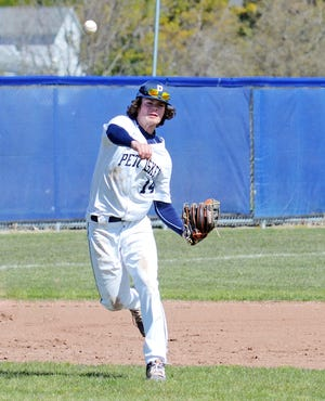Owen DeGroot and the Petoskey baseball team came through with a solid couple games to add to the win total Thursday.
