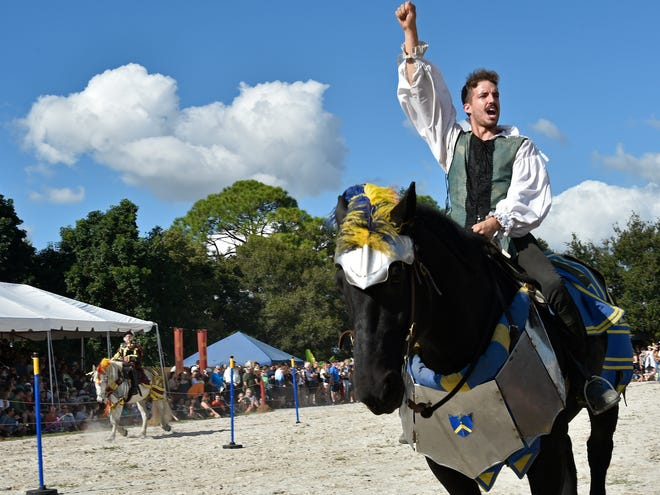 Sarasota's Medieval Fair in 2019. A Sarasota County building official connected to the annual festival resigned amid questions about her role in construction of a new home for the event in Manatee County.
