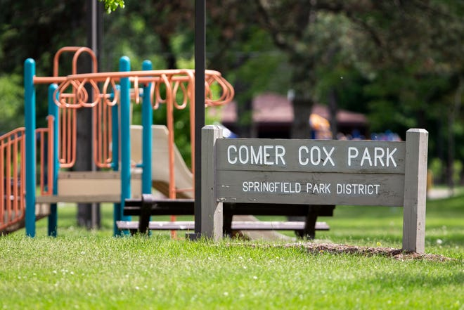 Next summer, Comer Cox Park will become the home of Springfield's first pump track. The bike track gets its name for the looped sequence of dips and banked turns it features, which allows riders to maximize their momentum as the structure carries them up and down with minimal pedaling.