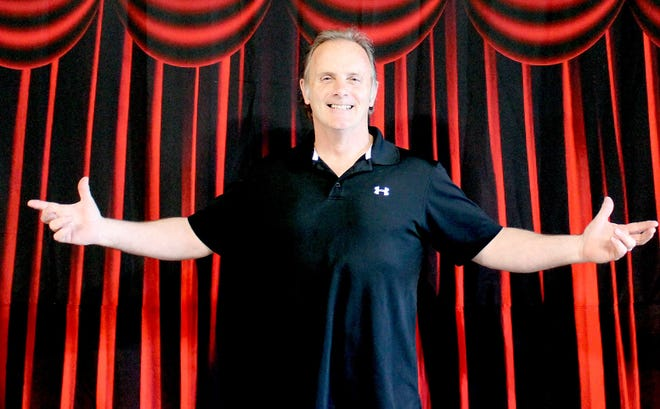 Magician and illusionist Duane Laflin has an ambitious plan for Grand Magic Theater in downtown Colon.
