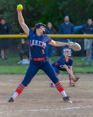 Jillian Rogers struck out 11 en route to a complete-game win.