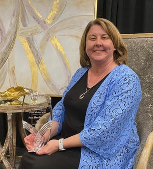 Pam Henderson was announced as the winner of the 2021 Spirit of Pittsburg Award at the annual Pittsburg Area Chamber of Commerce Banquet on Thursday.