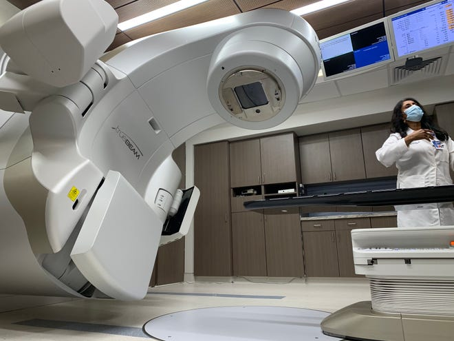 The purchase of the new TrueBeam radiotherapy machine was made possible through a partnership between St. Francis, the Kansas City health system, Ardent Health Services and the University of Kansas Cancer Center.