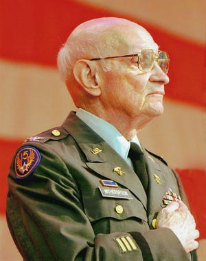 The commendation puts Gadsden's E.D. Witherspoon in the company of U.S. Legion of Honor recipients that include Gens. Dwight D. Eisenhower and Douglas MacArthur and, as an institution, the United States Military Academy at West Point.