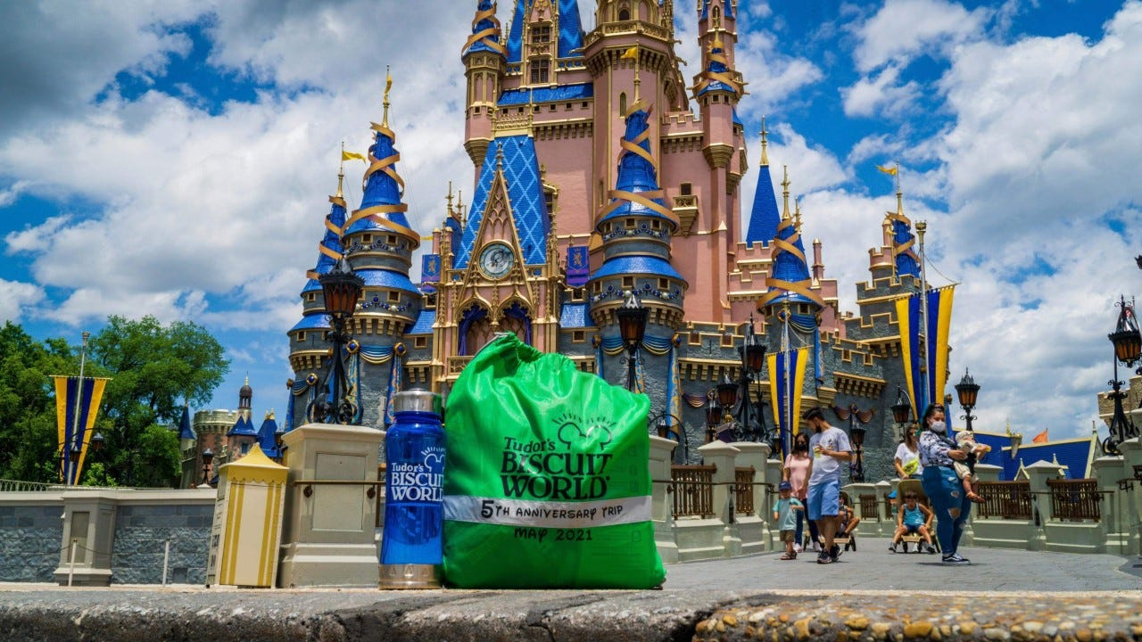 Florida restaurant marks 5th anniversary by treating entire staff to Disney World trip