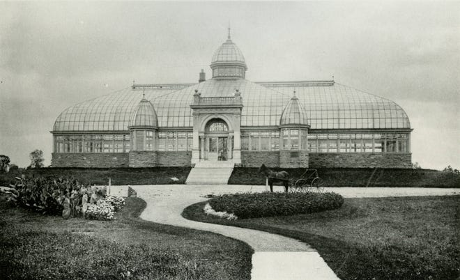 The Franklin Park Conservatory and Botanical Gardens Palm House, 1777 E. Broad St. in Columbus, opened Feb. 17, 1897. It was designed by Columbus architect John M. Freese, who also designed the expansion to Mount Carmel Hospital in 1891 and the original Columbus Athenaeum building in 1898. Freese died May 7, 1911, and his funeral was held at his home at 129 S. Grant Ave., now the site of OhioHealth Grant Medical Center.