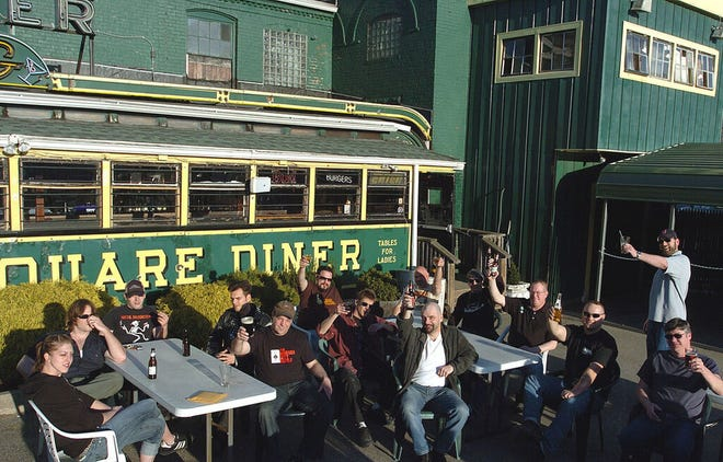 """Some of the veterans of the Wormtown movement gathered at Ralph's Rock Diner for their 30th reunion in 2008. The moniker """"Wormtown"""" was coined by Lenny Saarinen, better known as Mayor L.B. Worm."""