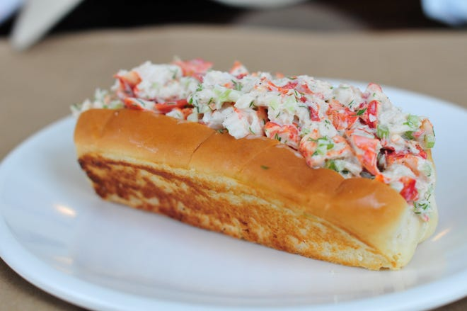 A lobster from Quincy's Original Lobster Roll, which has a location in Cape May.