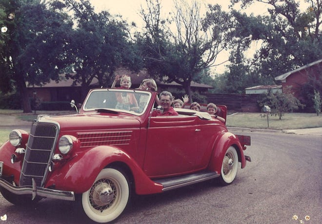 A longtime member of the Big Country Early Ford V-8 Club, architect Jack Luther had a great love of classic cars. Luther, who died Monday at 92, was a particular fan of his 1935 Ford Cabriolet.