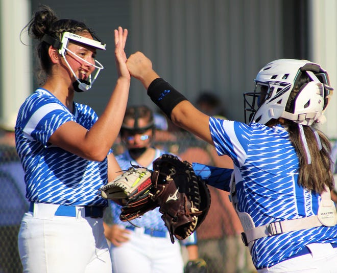 Stamford pitcher Citlaly Gutierrez no-hit Forsan on Thursday and did it again Saturday to lead the Lady Bulldogs into the Region I-2A championship against Colorado City.