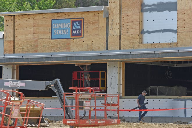The new Aldi grocery store in Bucyrus is scheduled to open in July  on the site of the former Al Smith's Place at 1885 E. Mansfield St.