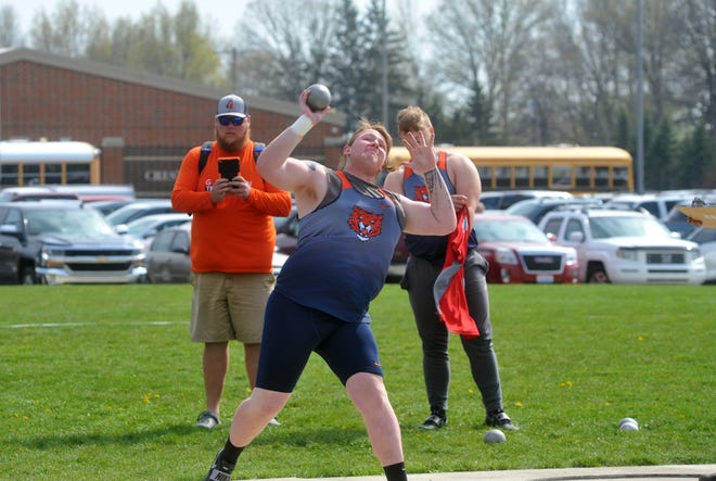 Galion's Clayton Yost placed fourth at districts in the shot put to lock up the final qualifying spot in regionals.
