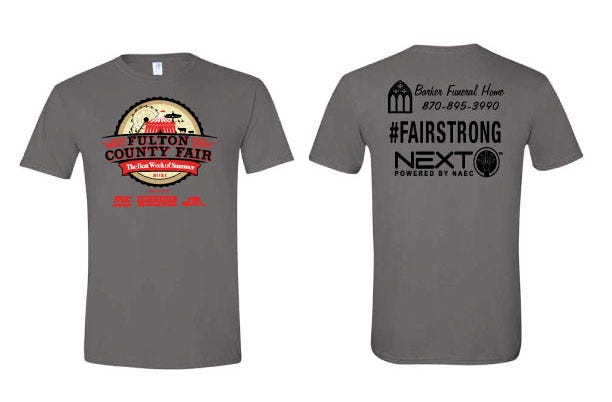 The Fulton County Fair Association is accepting orders for the 2021 T-shirt.