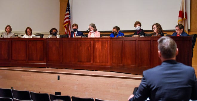 The Alabama State Board of Education meets in Montgomery, Ala., on Thursday May 13, 2021.