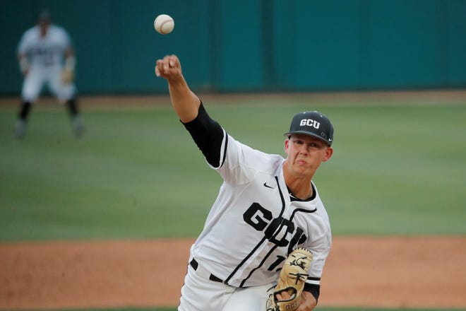 Pierson Olh won his eighth straight WAC start in Thursday's 5-1 victory over California Baptist. Photo courtesy of GCU Athletics