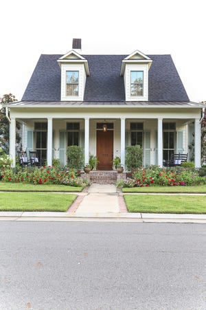 """HGTV Magazine features homes from Shreveport's Provenance neighborhood in the """"Copy the Curb Appeal"""" section, viewable in the May 2021 edition."""