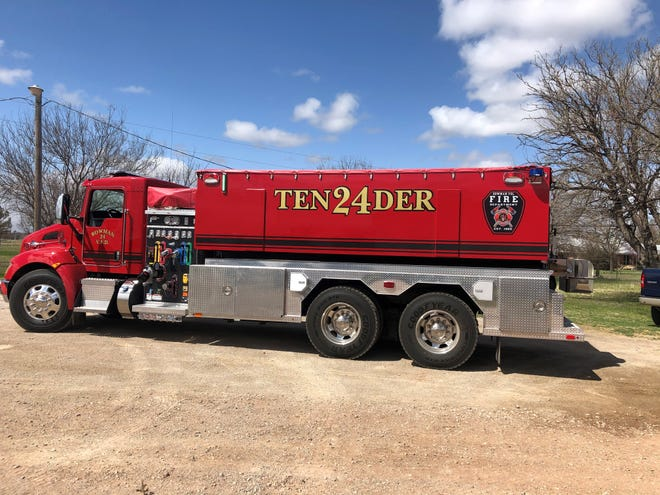 Bowman Community Volunteer Fire Department received a $220,000 cost share grant to help purchase a 2021 Kenworth water tender with updates