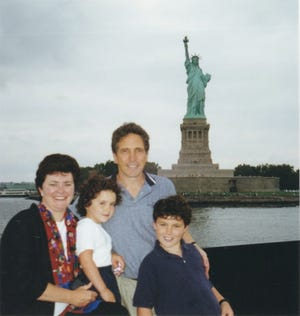 Claudette Greene, Jody Greene, Donald Greene and Charlie Greene took a dinner cruise in New York in 2000. A year later Donald was killed in the Sept. 11, 2001 terrorist attacks.
