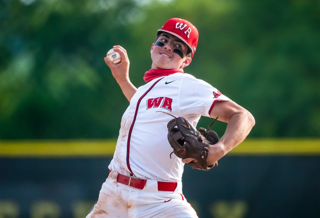 West Allegheny's Gavin Miller held Penn-Trafford scoreless to get the win Friday during their WPIAL playoff game at North Allegheny High School. [Lucy Schaly/For BCT]