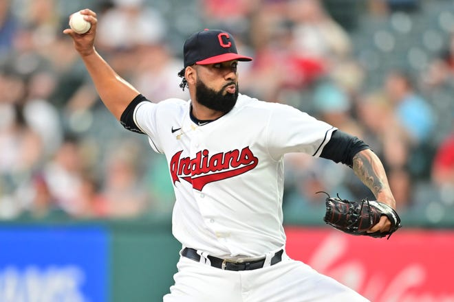 Cleveland's Jean Carlos Mejia pitched 2⅓scoreless innings in his MLB debut on Friday.