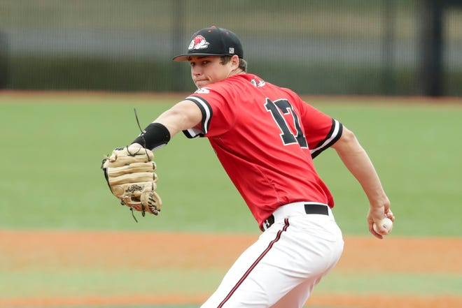 Gardner-Webb's Mason Miller was drafted by the Oakland Athletics.