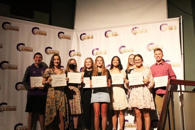 Camdenton students receive local scholarships.