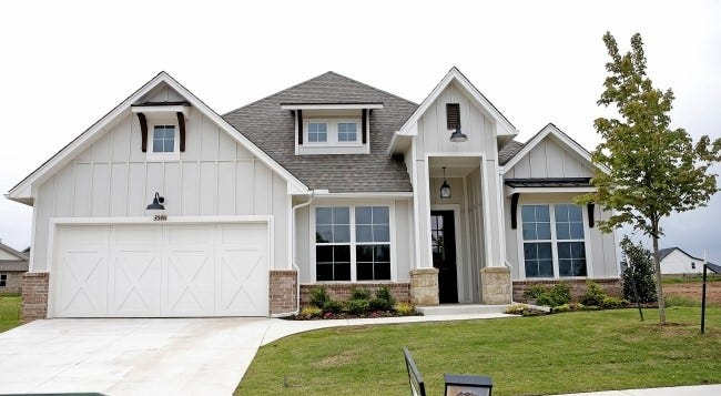 A house that sold last year in Edmond.