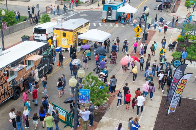 Attractions like the Rockford City Market that is part of a resurgent downtown could be touted as part of a proposed marketing campaign being considered by City Council that would be designed to trumpet Rockford's strengths as an affordable and convenient place to live and work.