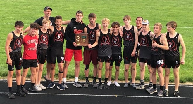 Tusky Valley boys won the Division III District Track & Field title at Newcomerstown Friday niight.