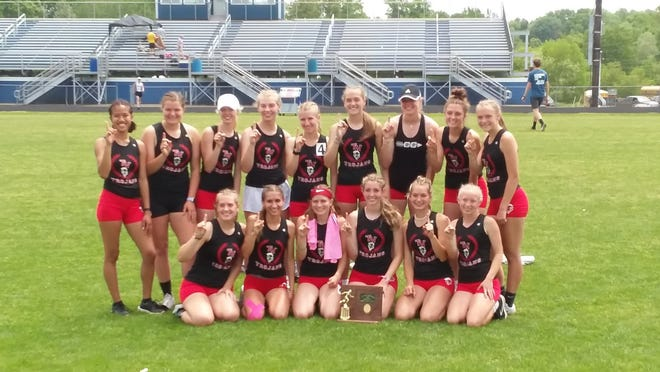 The Tusky Valley girls claimed the Division II District track & field title at West Holmes on Saturday.