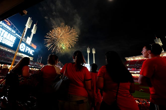 Fireworks will be limited to professionals for now, thanks to a Gov. Mike DeWine veto.
