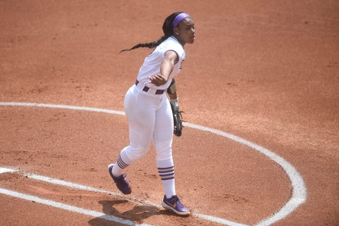 Odicci Alexander helped lead her JMU softball team to the Women's College World Series for the first time in program history.