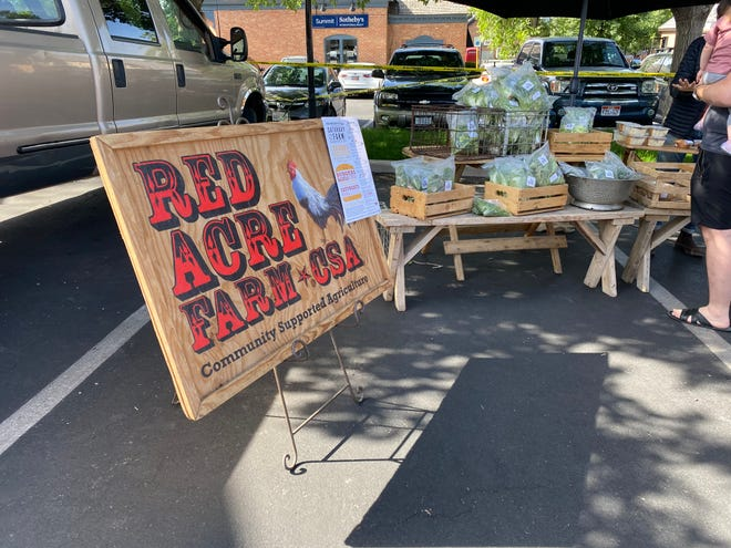 It was opening Day at St. George Downtown Farmers Market at Ancestor Square on Saturday.