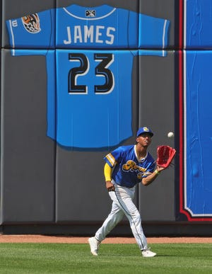 Richard Palacios used almost two years away from the game he loves to make himself a better player and the results are showing for the RubberDucks. [Jeff Lange/Beacon Journal]