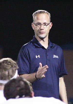 Jason Sport is starting his third year as the Bartlesville High School head football coach.