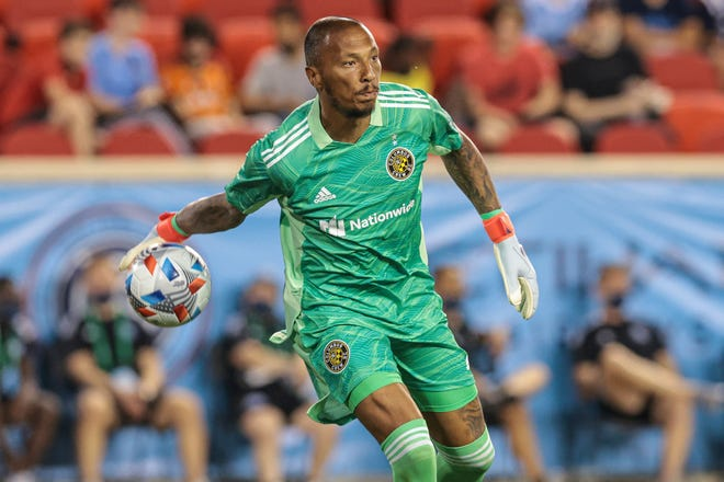Crew goalkeeper Eloy Room isrequired to quarantine under Major League Soccer's health and safety protocol.