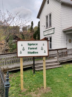 The Casselmead House now houses studio and gallery space for artists of Spruce Forrest Artisan Village.