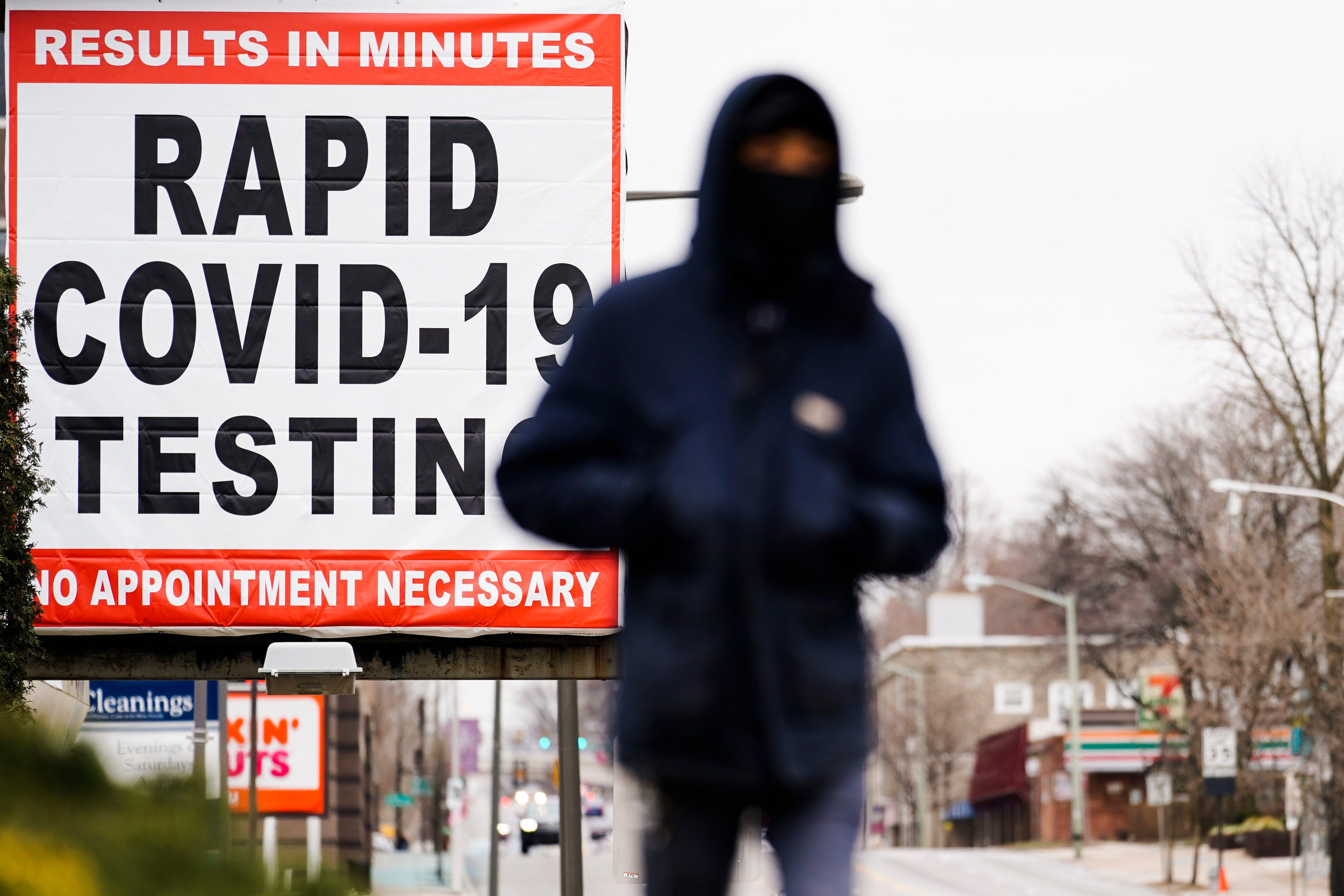 COVID testing's value shrinks as vaccines beat back virus 2