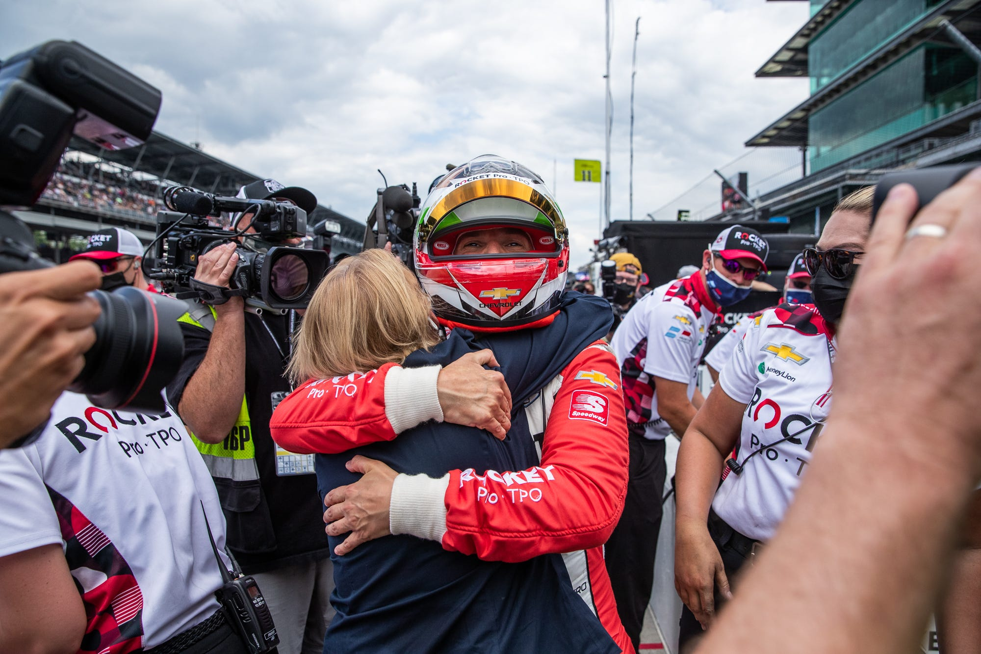 75 minutes of stress: Paretta Autosport survives Last Chance Qualifying to make Indy 500 field