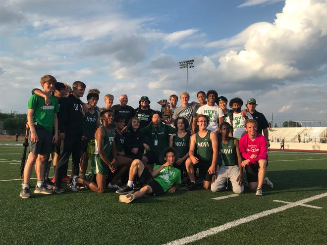 The Novi boys track and field team remains undefeated with its regional championship.